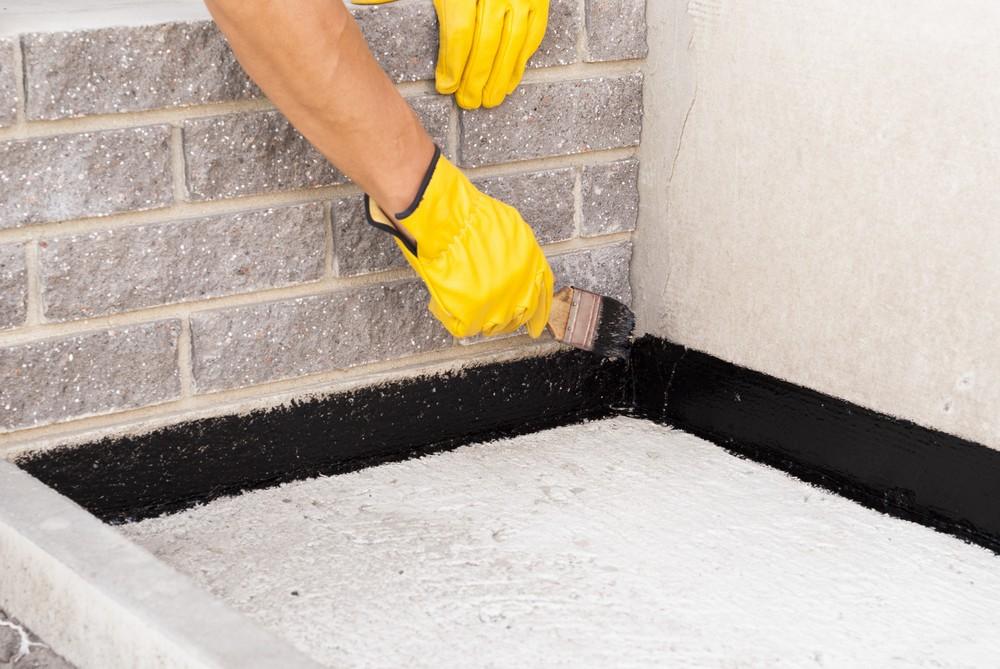 Install basement Waterproofing