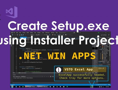 How to Create an MSI Package in Visual Studio to Deploy Software